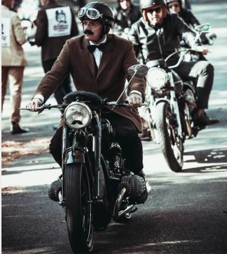 Donation : The Distinguished Gentleman's Ride